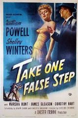 Take One False Step 1949 DVD - William Powell / Shelley Winters